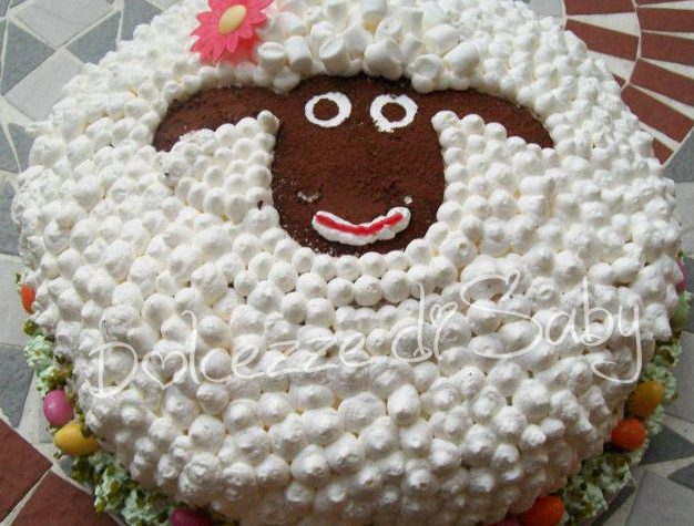 Pecorella Pasqualina (con cartamodello da stampare)