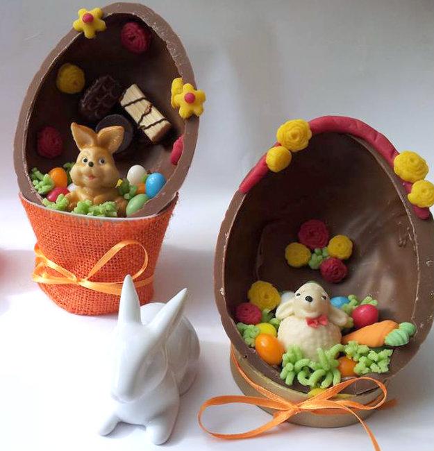 Uova decorate - Uova di pasqua decorati a mano ...