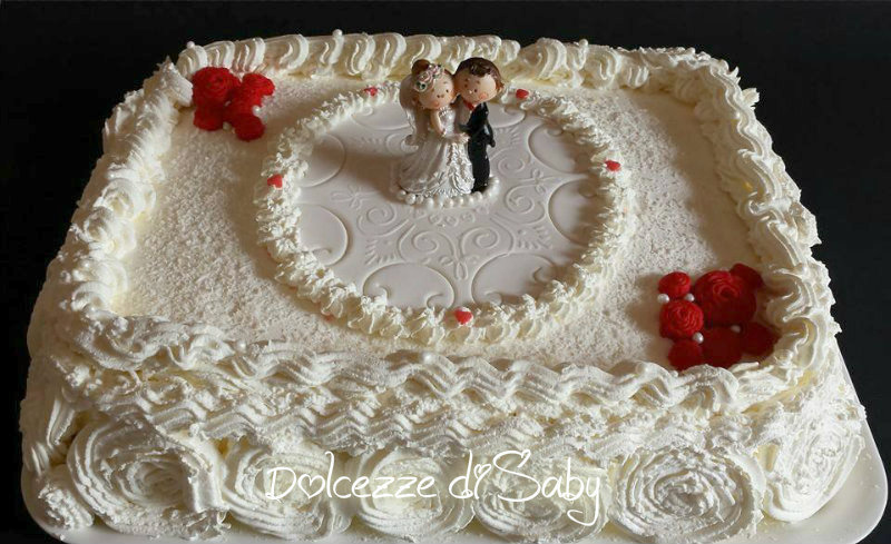 Torta nuziale pannosa