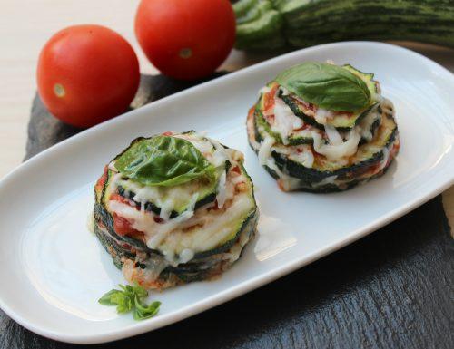 Parmigiana di zucchine estiva