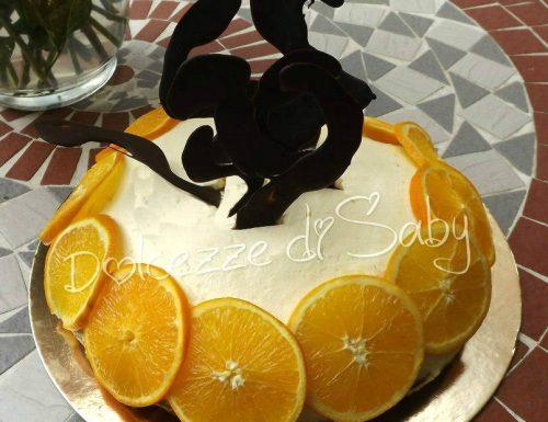 Torta al maracuja tipo bavarese