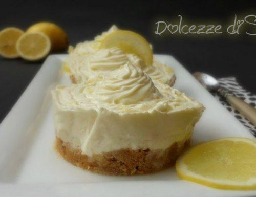 Cheese cake al limone mono porzione