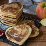 Pancake al cuore di mele e cannella