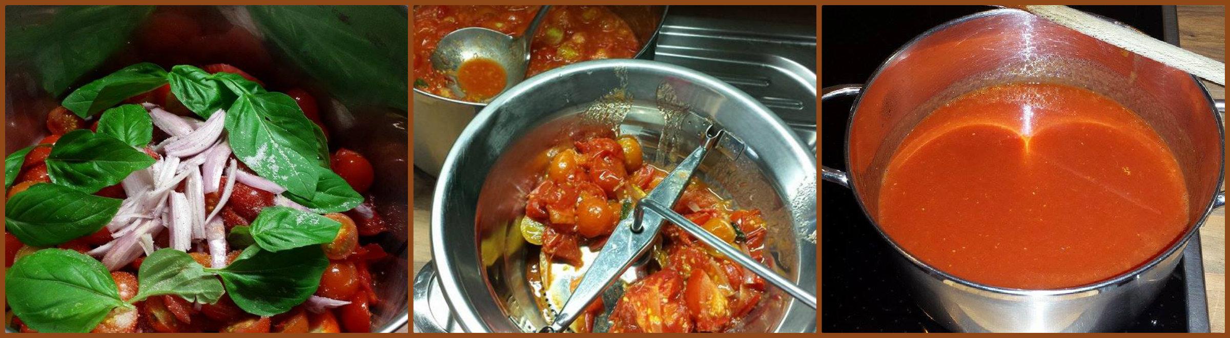 sugo di pomodoro ciliegino (o pachino)