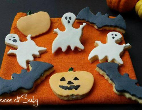 Biscotti Halloween (pipistrelli, fantasmini e zucche)
