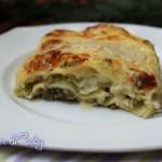 Lasagne vegetariane con carciofi