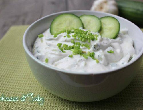 Tzatziki (salsa greca)