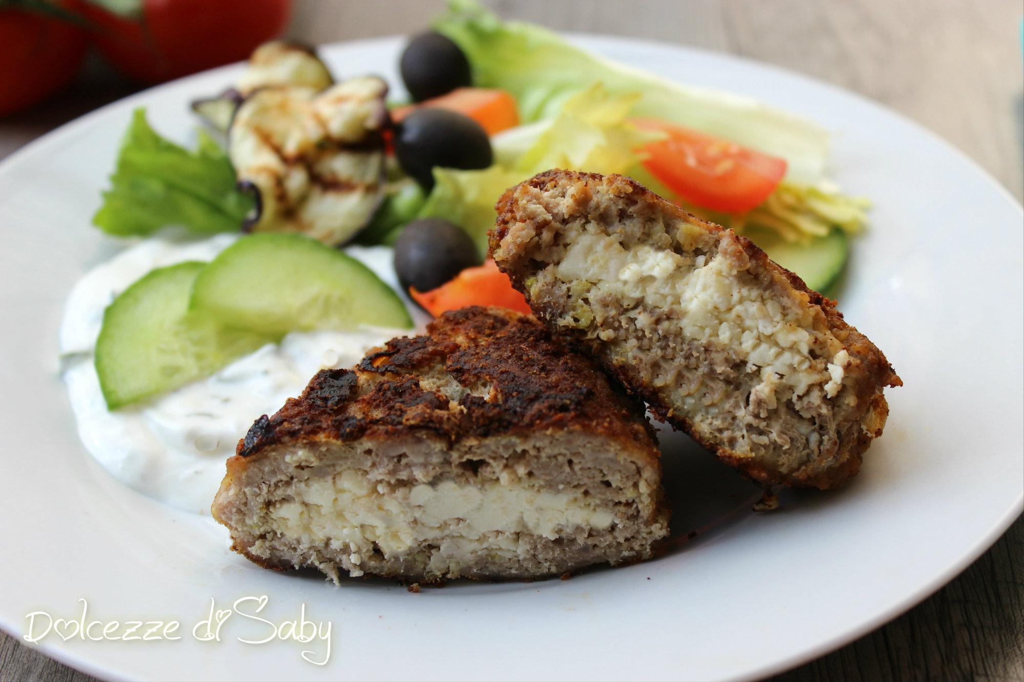 Bifteki polpette greche for Greche decorative per cucina