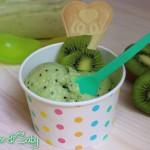 Gelato al kiwi (senza gelatiera)