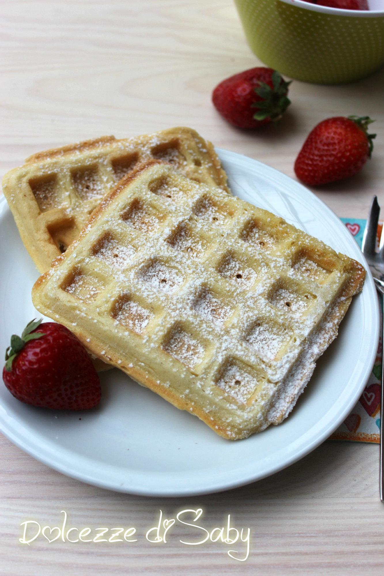 waffle alla belga