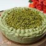cheesecake pistacchio e ricotta