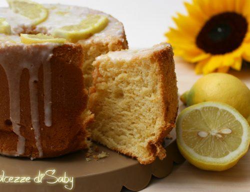 Chiffon cake al limone (stampo piccolo 17 cm)