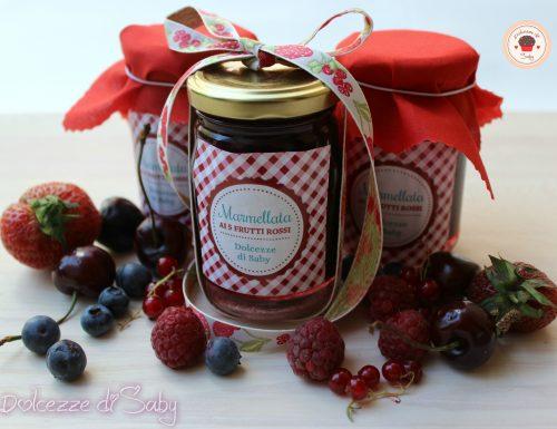 Marmellata ai 5 frutti rossi