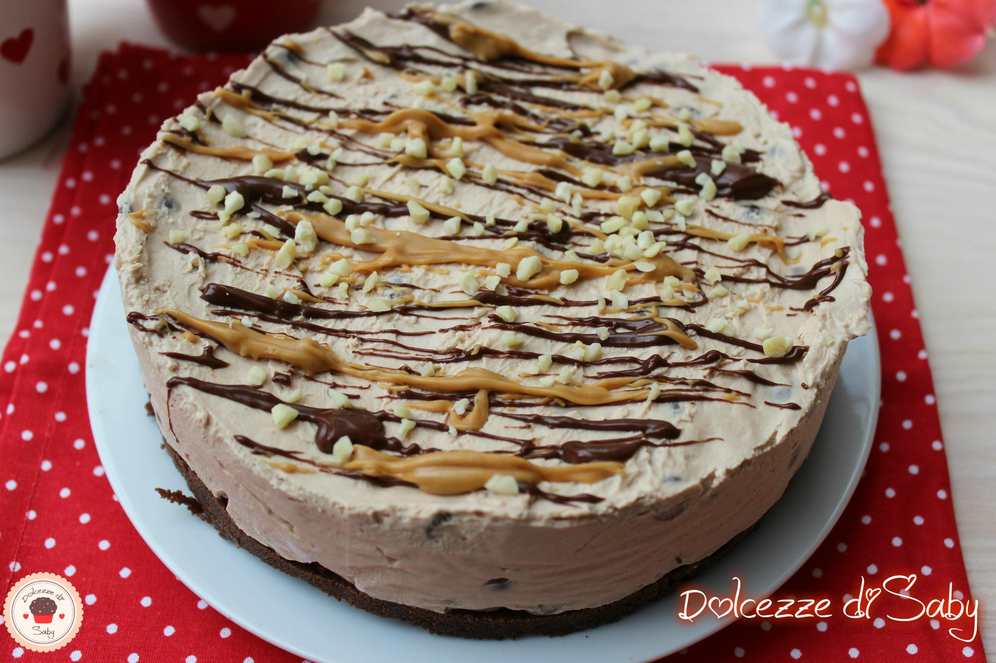 cheesecake arachidi