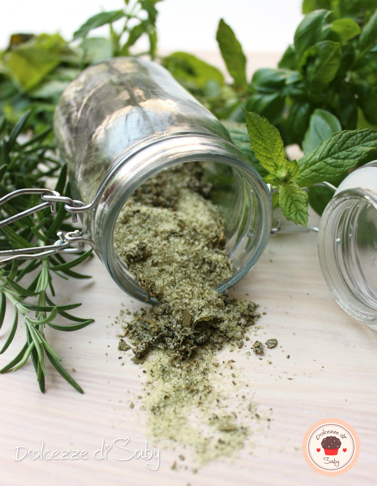 sale alle erbe aromatiche