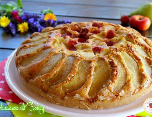 Torta morbida alla frutta (con farina di farro e senza lattosio)
