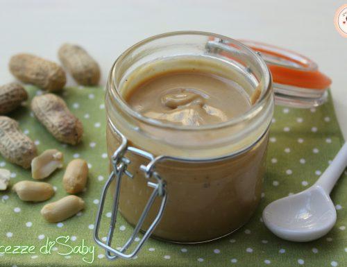 Burro d'arachidi (ricetta semplice e veloce)