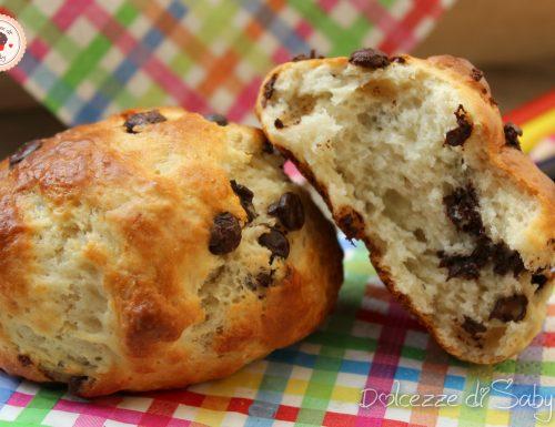 Panini al cioccolato (ricetta veloce e semplicissima)