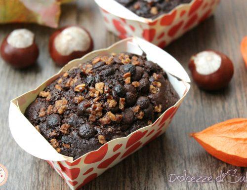 Tortine castagne e cioccolato croccante