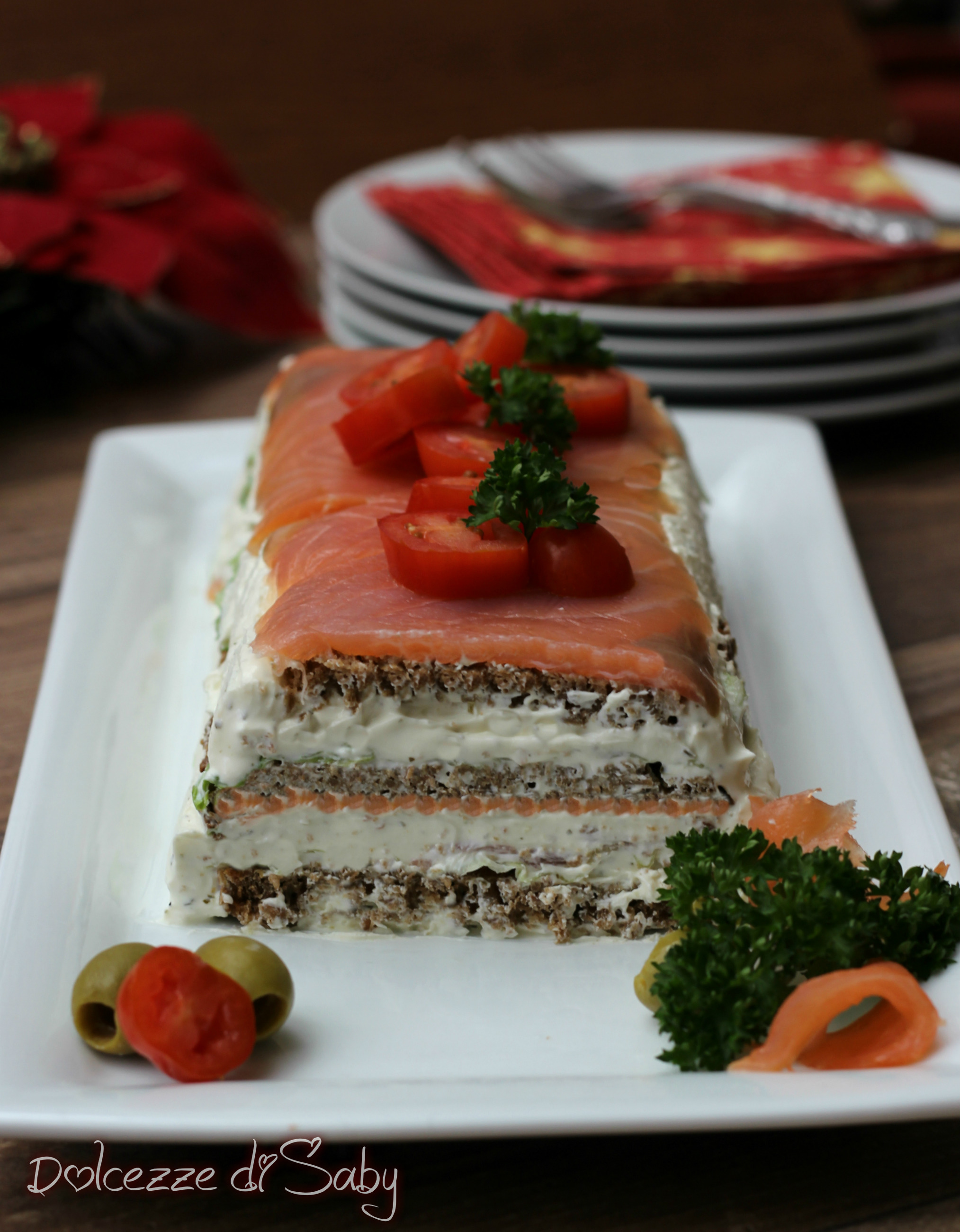 mattonella al salmone