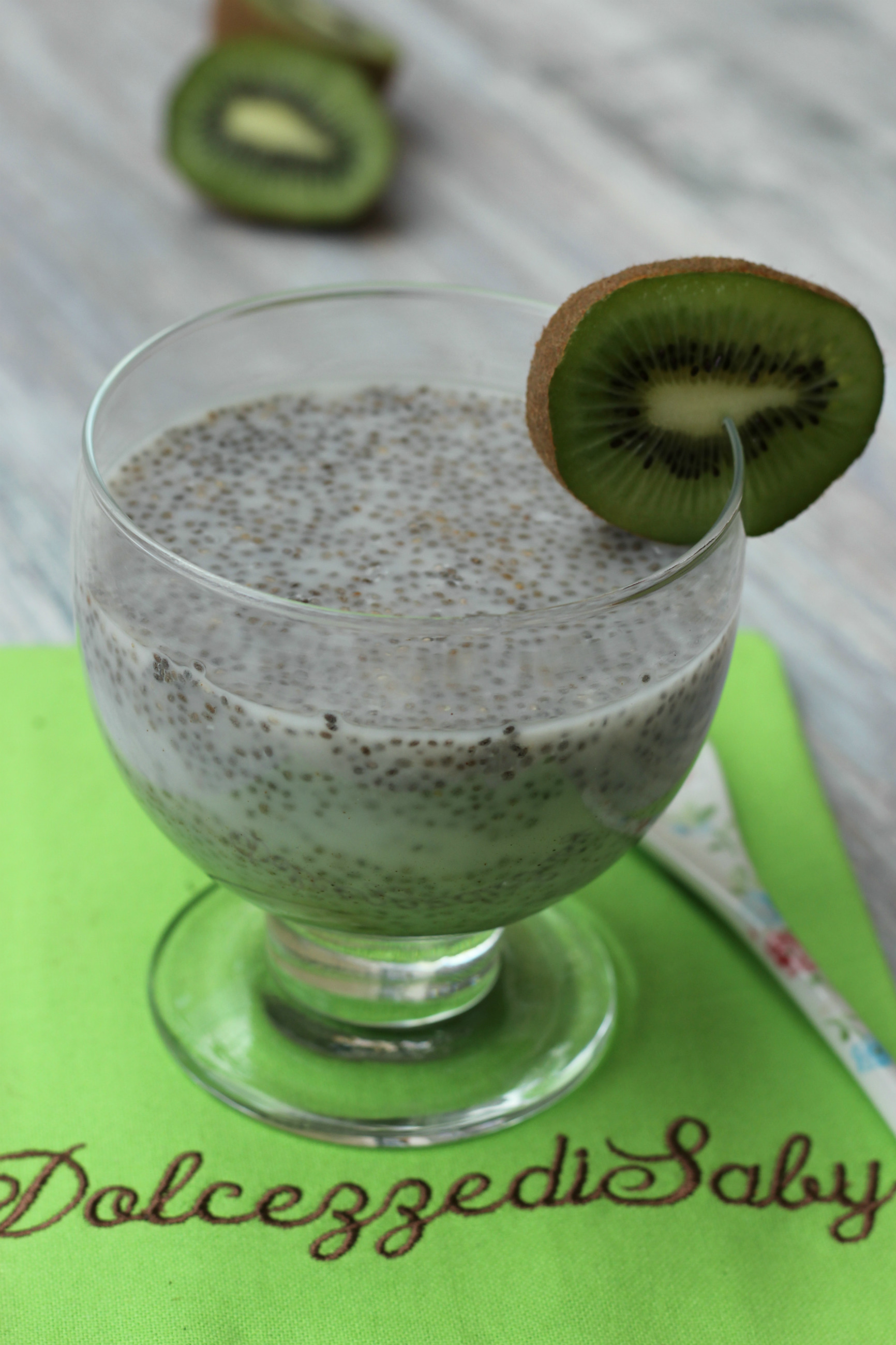 pudding con semi di chia