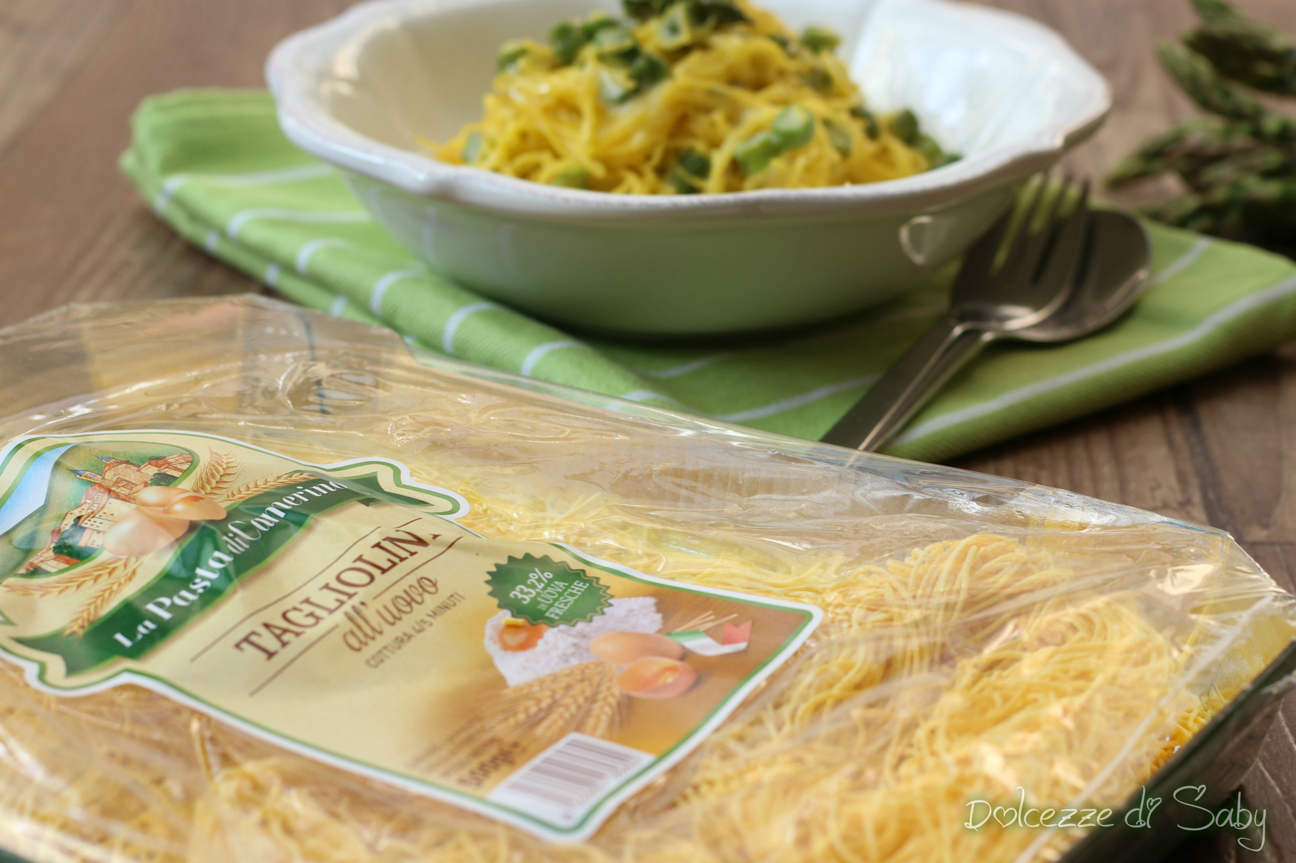 tagliolini asparagi