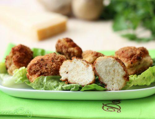Crocchette di pollo e patate