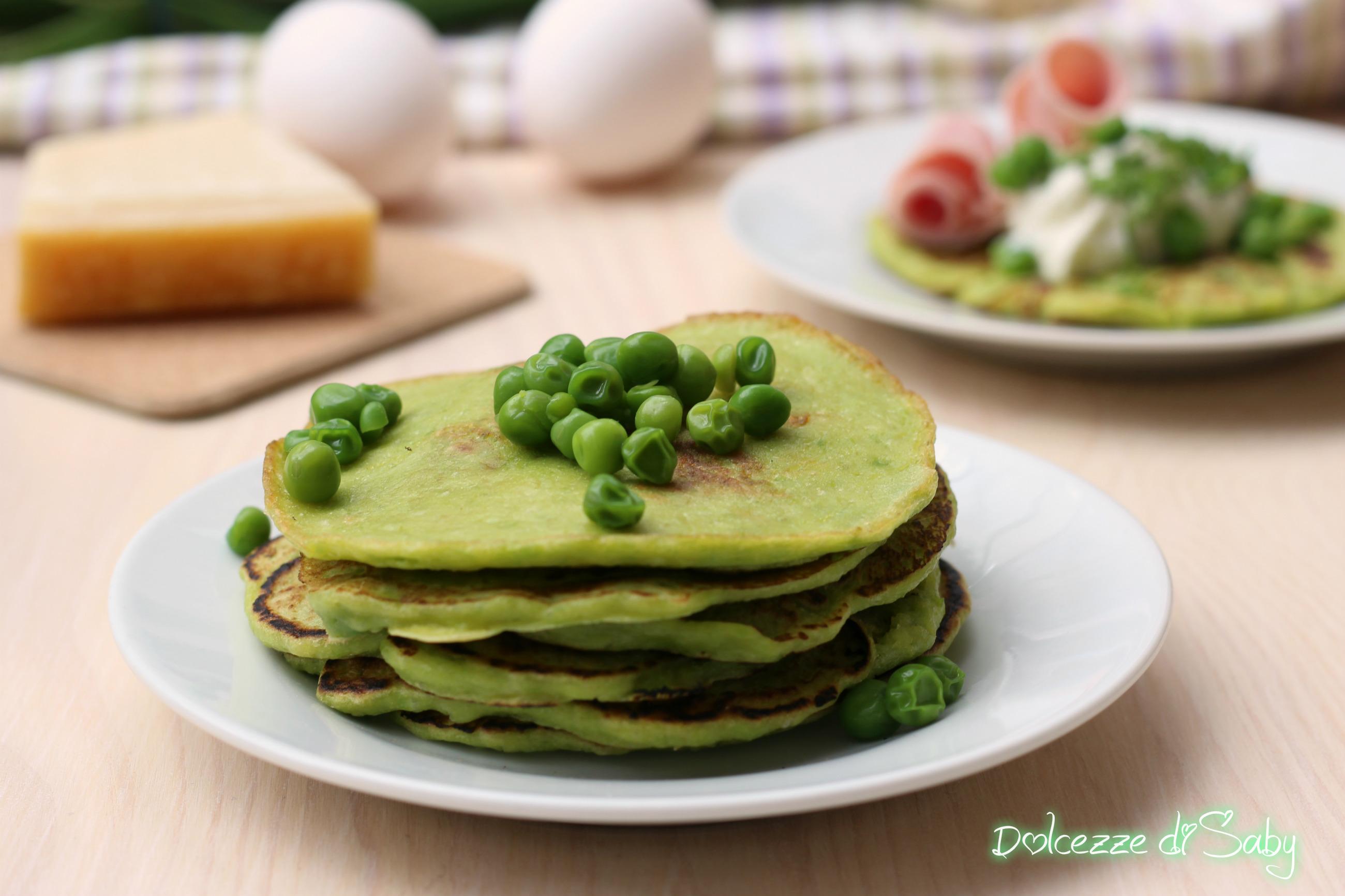 Pancake di Piselli