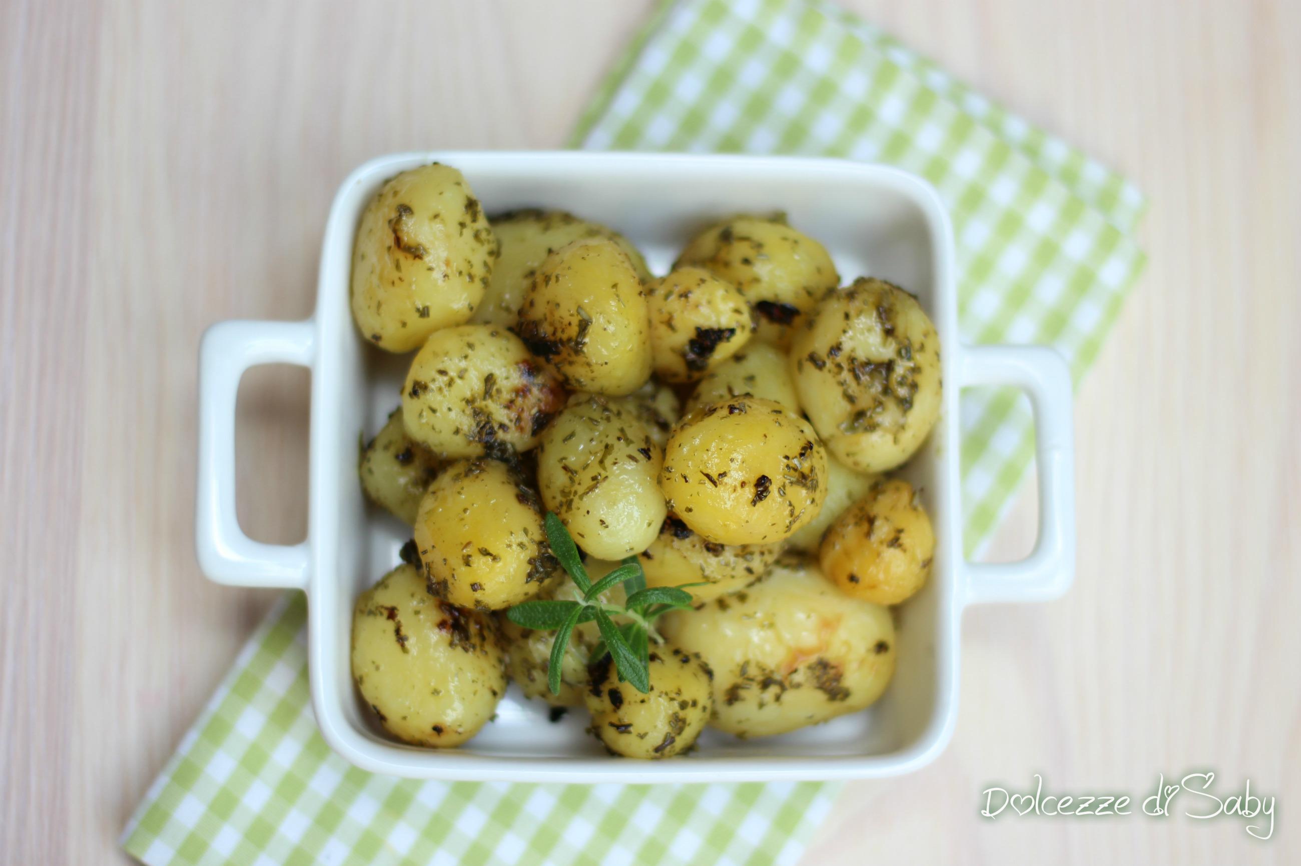 patate al pesto