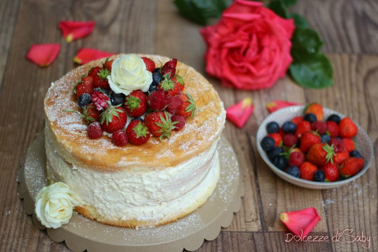 Cheesecake ai frutti di bosco ricetta - Italian Cakes