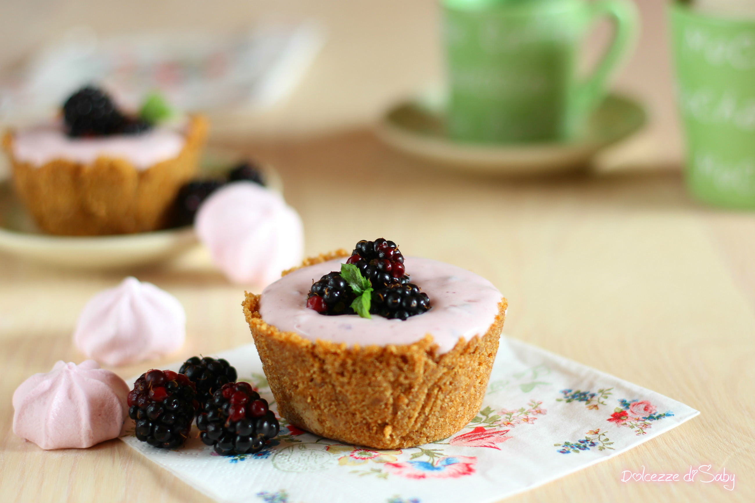 mini cheesecake alle more