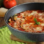 parmigiana cotta in padella