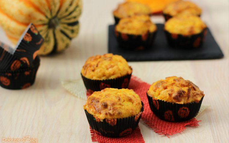 Muffin zucca e formaggio
