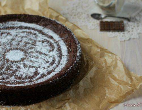 Torta cioccolato e mandorle senza farina