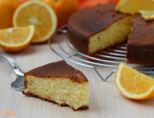 Torta all'arancia morbidissima