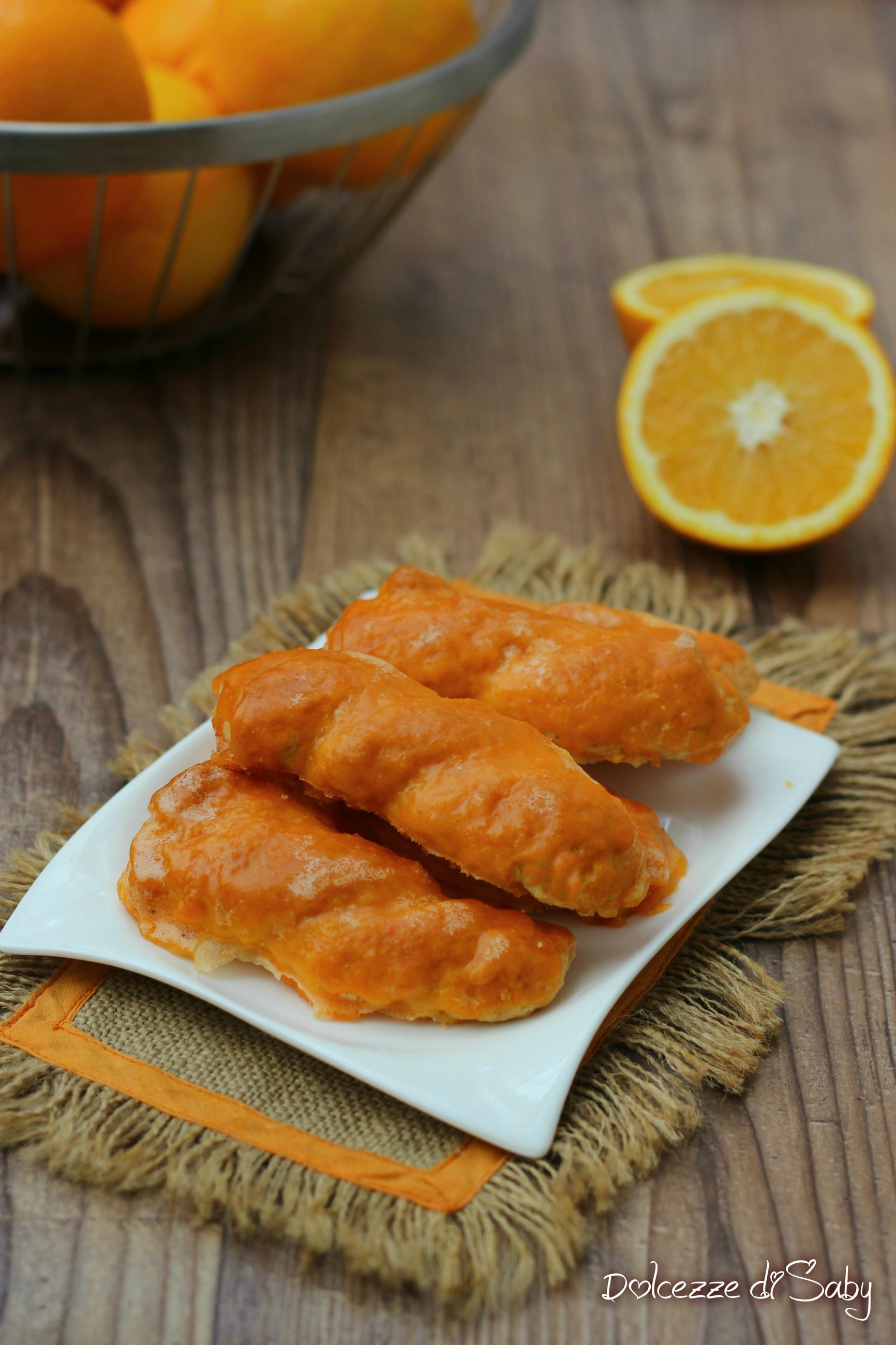 taralli siciliani all'arancia