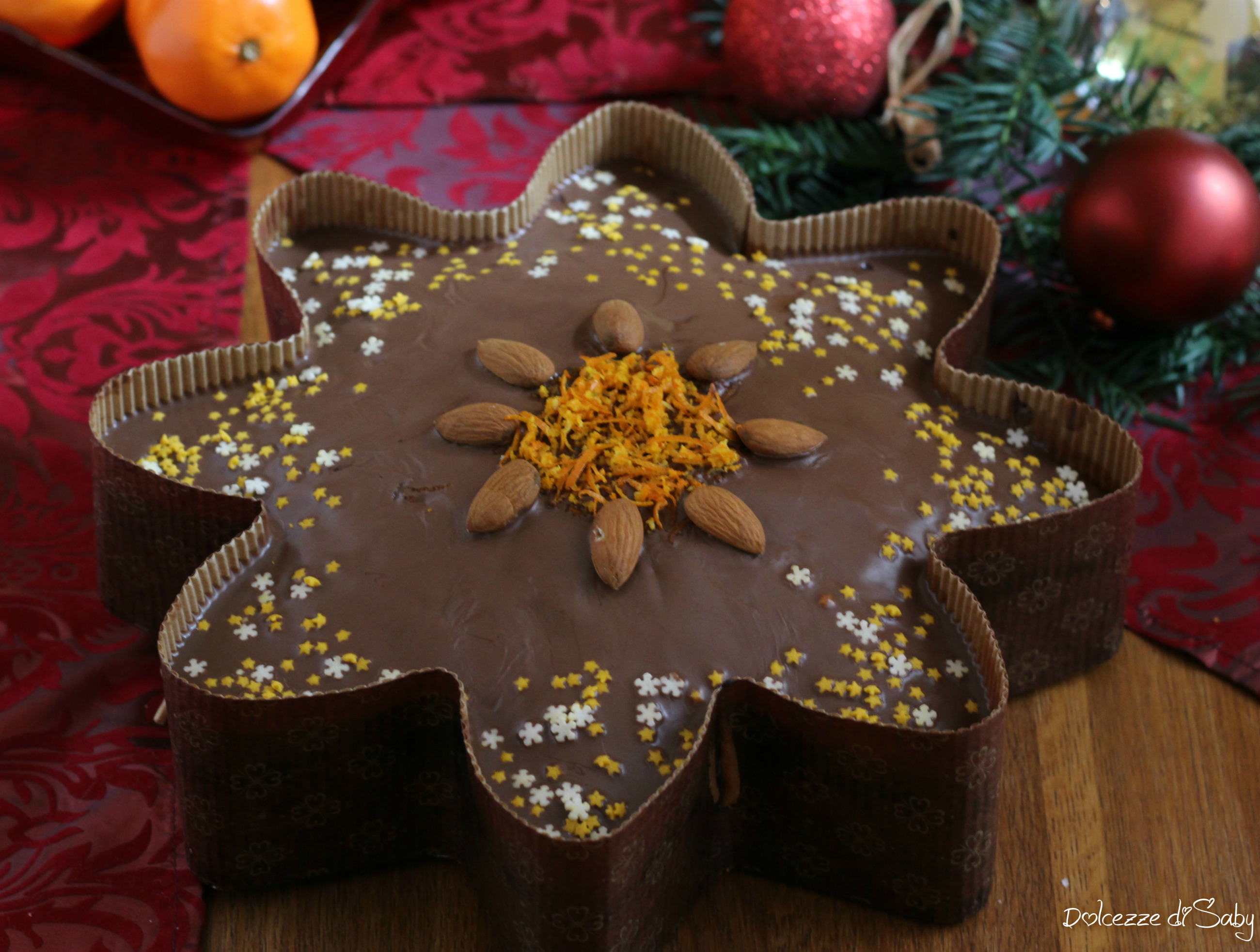 Torta A Forma Di Stella Di Natale.Torta Stella Di Natale Speziata Al Cioccolato Morbida