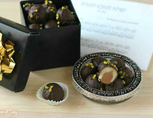 Palle di Mozart cioccolatini al marzapane (Mozart Kugeln)