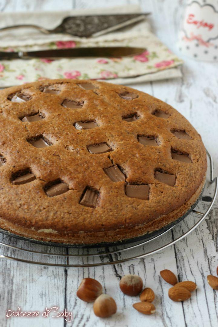torta mandorle e nocciole