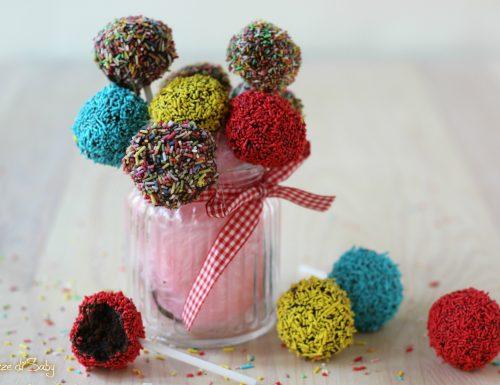 Cake pops al cioccolato veloci, facili e senza cottura