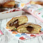 Bomboloni al forno con nutella (con monsieur cuisine plus o bimby)