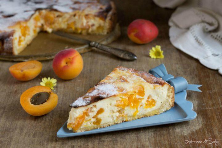 Cheesecake con Albicocche (käsekuchen Ricetta Tedesca)