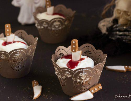 Cupcakes cioccolato e zucca per Halloween