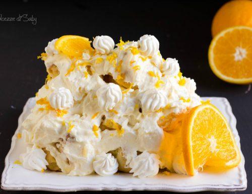 Profiteroles all'arancia