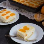 Cheesecake ai mandarini ( versione tedesca 24 pezzi con 1 impasto)