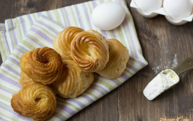 Pasta Choux (ricetta con e senza monsieur cuisine plus o bimby)