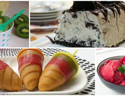 Gelati fatti in casa senza gelatiera