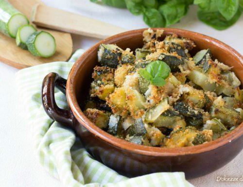 Zucchine sabbiose al parmigiano
