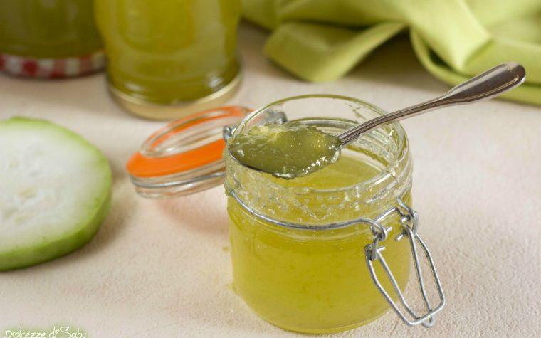 Zuccata o cucuzzata (confettura di zucchina lunga siciliana con e senza robot)