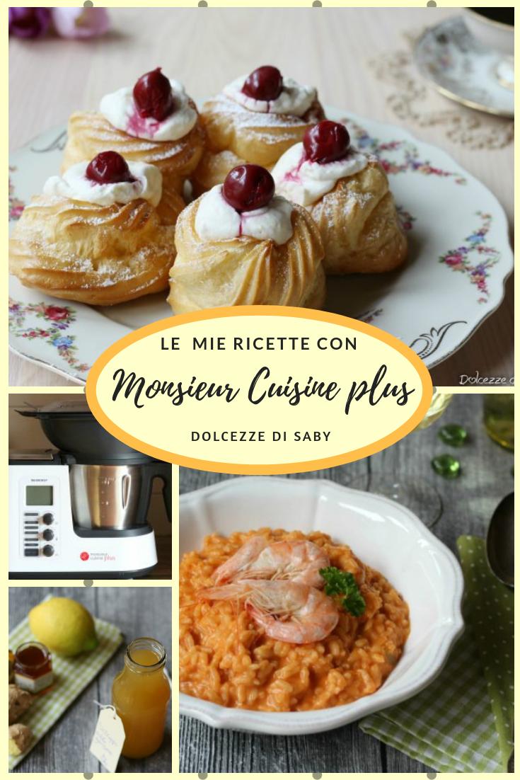 ricette monsieur cuisine